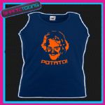 KEITH LEMON POTATO FUNNY HOLIDAY UNISEX VEST TOP